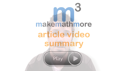 Make Math More Video Lessons