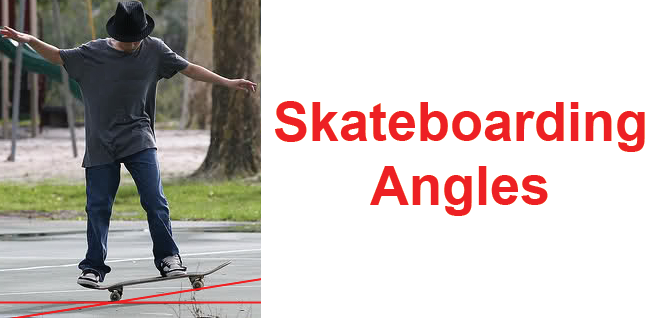 Skateboarding Angles Make Math More